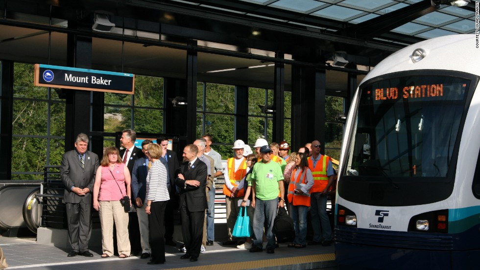 Sound Transit, which serves Washington state's central Puget Sound area, reported a 14.13% rise in riders from July through September.