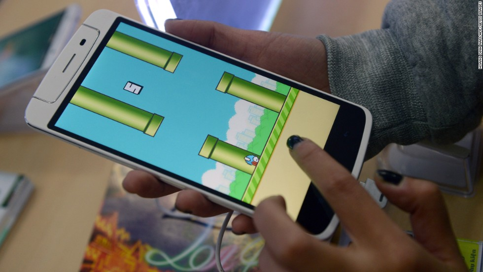 "Unexpected hit smartphone game <a href=""http://www.cnn.com/2014/02/05/tech/gaming-gadgets/flappy-bird-game/"">Flappy Bird</a> inspired hours of tapping, lengthy think pieces -- and a large number of Google searches."