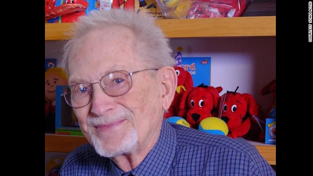 """Norman Bridwell wrote dozens of books about """"Clifford the Big Red Dog."""""""
