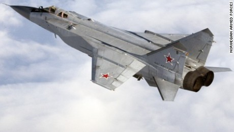 Russian Planes intercepted by Norwegian Fighter Jets