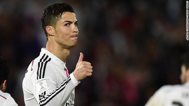 Cristiano Ronaldo, en datos