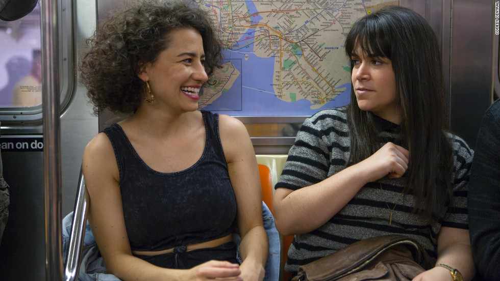 "<strong>""Broad City"": </strong>To ward off the holiday blues, cruise through the 10-episode first season of this excellent Comedy Central breakout hit. You'll wonder why you haven't been paying more attention to Ilana Glazer, left, and Abbi Jacobson, and will immediately pencil the second season's January 14 premiere into your calendar."