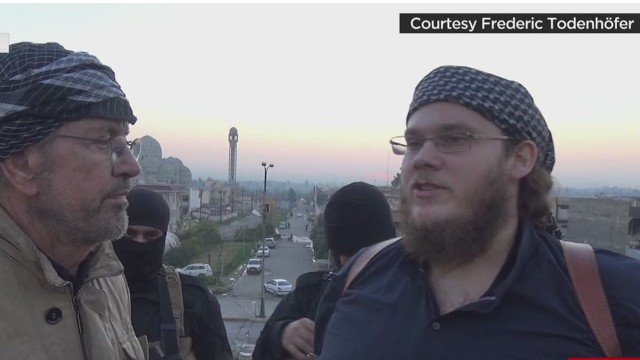 German ISIS member speaks with Jürgen Todenhöfer