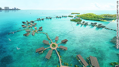 Funtasy Island: An eco park off the coast of Singapore.