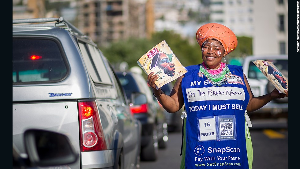 "Snapscan is a mobile payments system that works using QR codes. The South Africa based startup won MTN App of the Year in 2013 and used the prize money to set up all of Cape Town's Big Issue magazine vendors with ""snapcodes"" so that they can accept payments via the app."