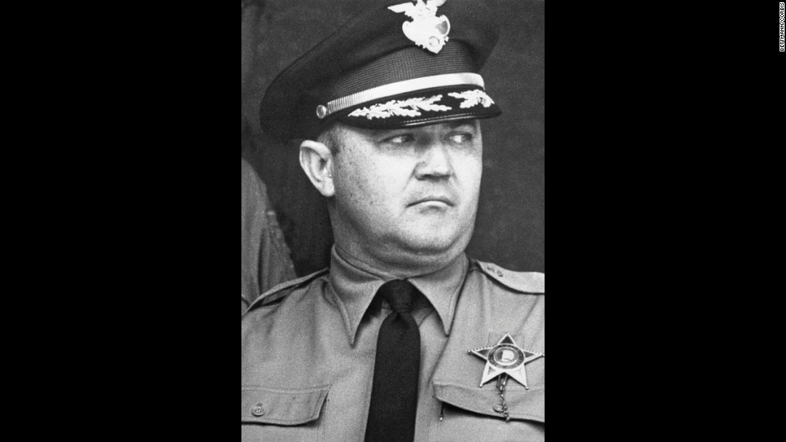 "Dallas County Sheriff Jim Clark used brute force with impunity to defend segregation in Alabama. On Bloody Sunday, when someone called for an ambulance to help the injured, Clark infamously declared, ""Let the buzzards eat them."""