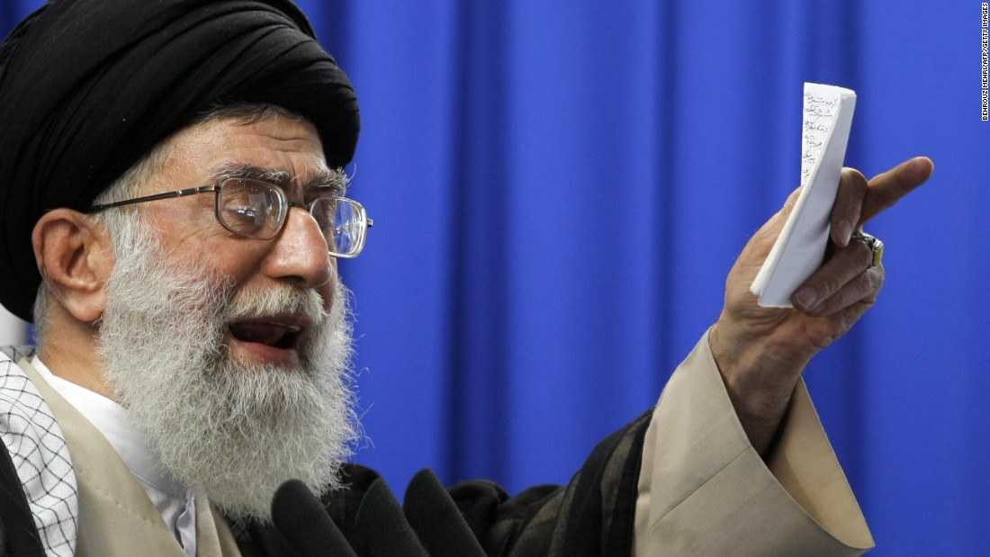 Iran's Ayatollah says Trump is 'foul-mouthed' and 'pretends to be an idiot'