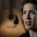 Imogen Heap head shot filming