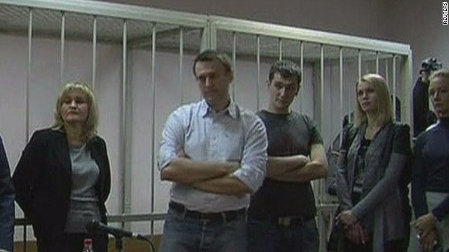 Navalny arrested hours after sentencing