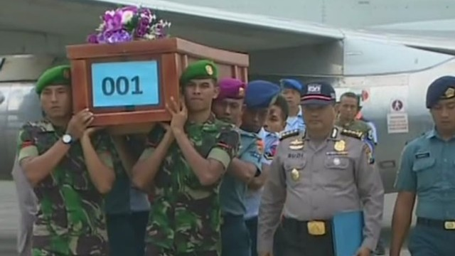 Recovered passengers return in caskets