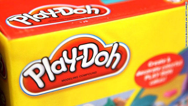 Hasbro Inc.'s Play-Doh logo is seen on an item for sale at a Target Corp. store in Rosemont, Illinois, U.S., on Thursday, Oct. 13, 2011. The U.S. Census Bureau is scheduled to release retail sales data on Oct. 14.