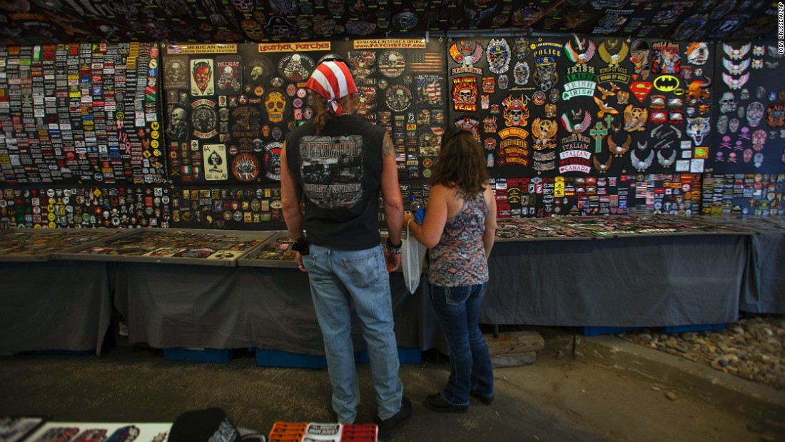 Everything you need for your bike can be found at the annual Sturgis Motorcycle Rally, which attracts hundreds of thousands of riders to South Dakota.