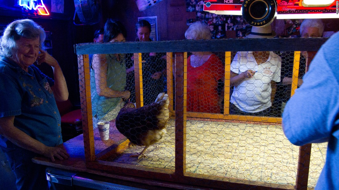 Chicken poop can make your day at this Austin bingo game.