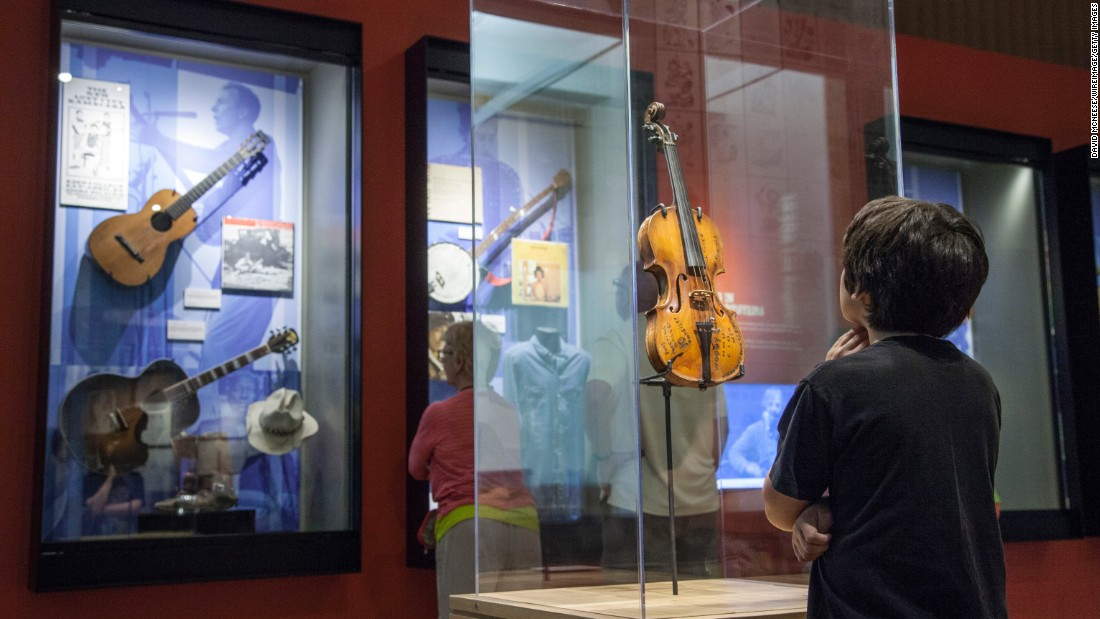 The Woody Guthrie Center celebrates the life and work of the renowned folk singer.