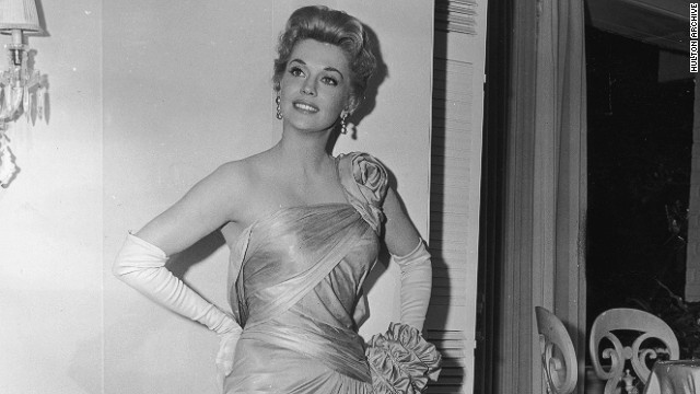 """Donna Douglas about 1960, before she became part of """"The Beverly Hillbillies."""""""