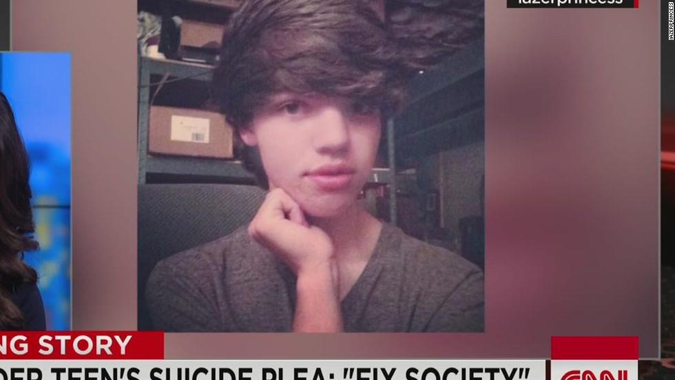 Transgender teen pleads to 'fix society'