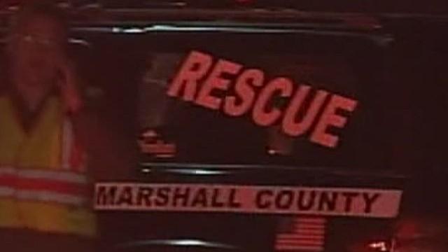 Video of the crash scene
