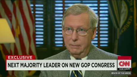 McConnell: Not opposed to negotiating with the Pres.