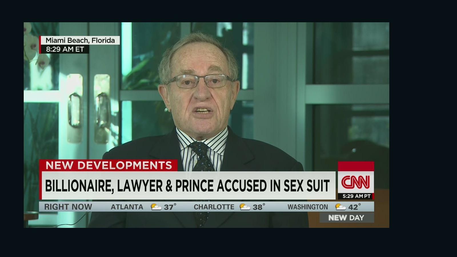 alan dershowitz sex allegations in Lismore