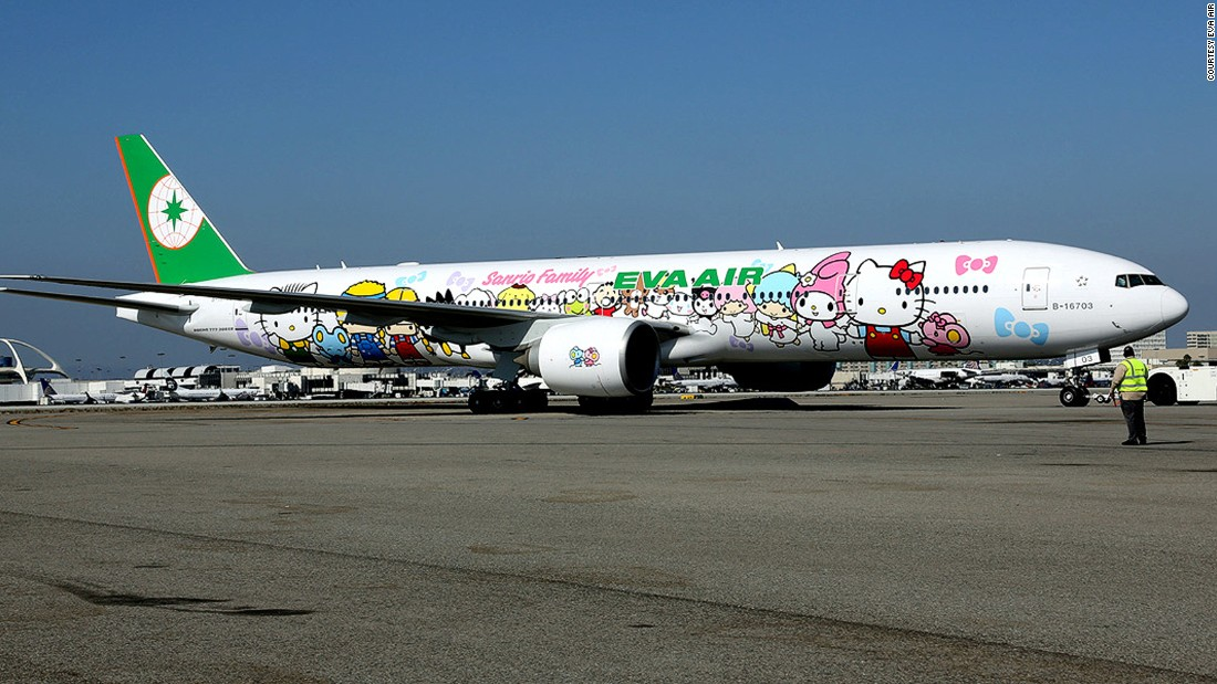 Taiwan's EVA  Air, which has its own Hello Kitty branded aircraft, also placed in the top 10 list of the world's safest airlines.