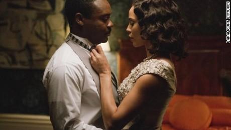 David Oyelowo stars as Martin Luther King Jr. and Carmen Ejogo stars as Coretta Scott King in quot;Selma.quot;