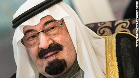 Saudi State TV: <b>King Abdullah</b> dead at 90 - 150107104720-saudi-arabia-king-abdullah-large-169
