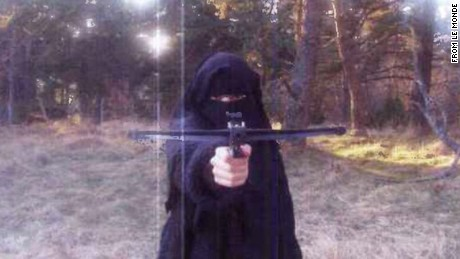 Le Monde newspapers claims this is a 2010 photo of Hayat Boumeddiene. CNN has not independently confirmed its authenticity.