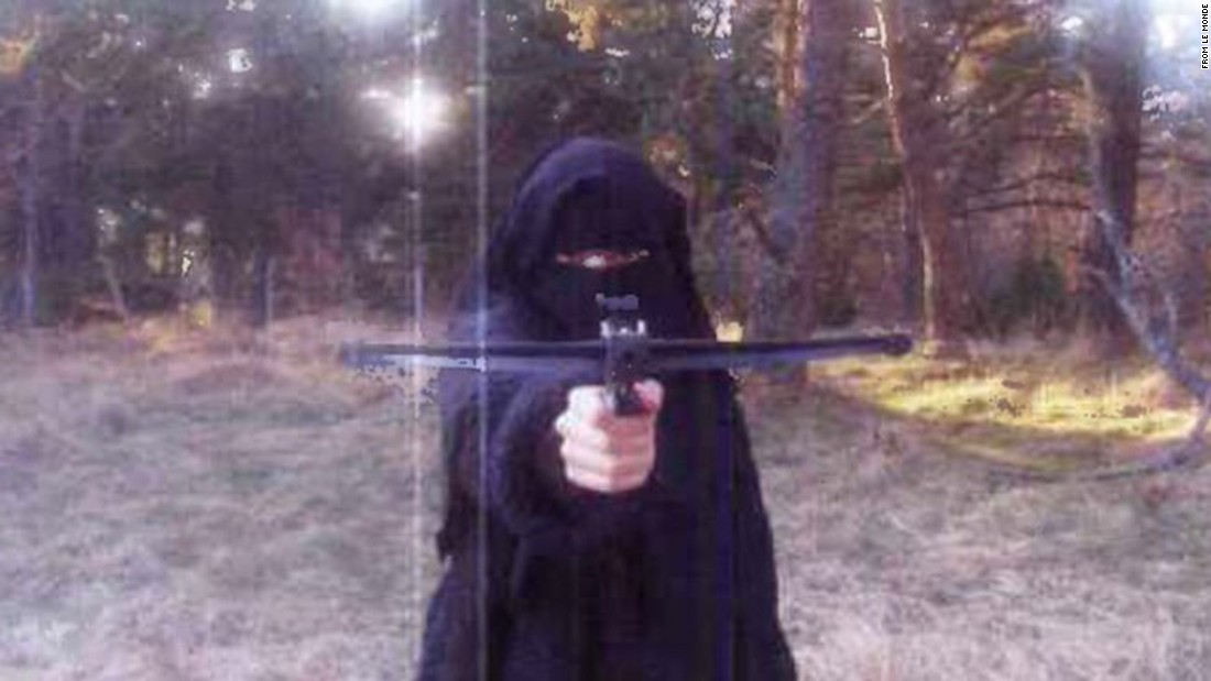 The French newspaper Le Monde says this is a 2010 photo of Hayat Boumeddiene.