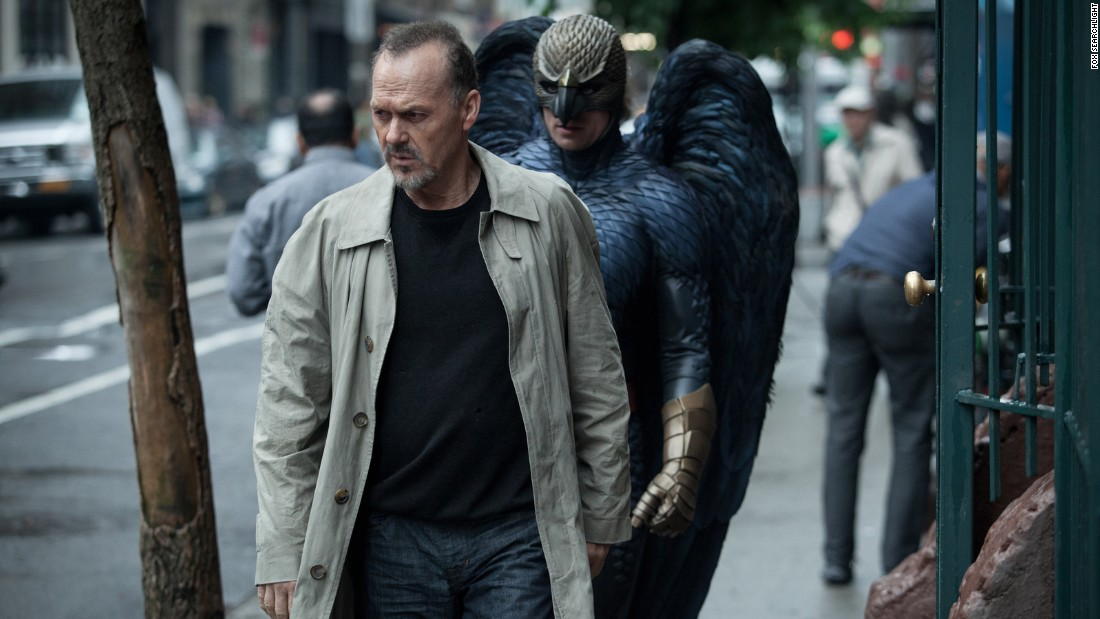 """<strong>Best actor in a motion picture -- musical or comedy:</strong> Michael Keaton, """"Birdman"""""""