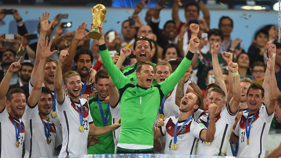 When Manuel Neuer lifted the World Cup trophy after helping Germany win the 2014 final he did so in the month of July. But when the 2022 World Cup final is staged it's likely the final will take place in December.
