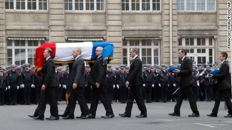 Paris terror victims remembered