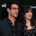 Jacob Pechenik Zooey Deschanel Hollywood September 2014