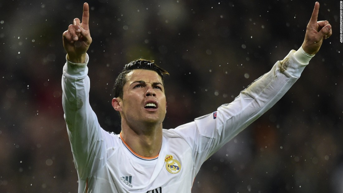 April 2: Appearing for Real in their home match against Borussia Dortmund, Ronaldo marks his 100th Champions League appearance.