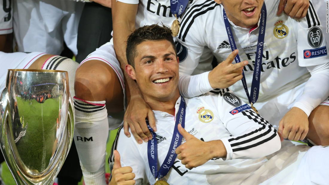August 12: Ronaldo's Real Madrid wins the Super Cup, while the Portuguese becomes the joint second European competition scorer with 70 goals.