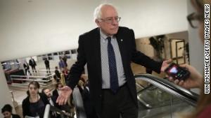Here comes Bernie Sanders