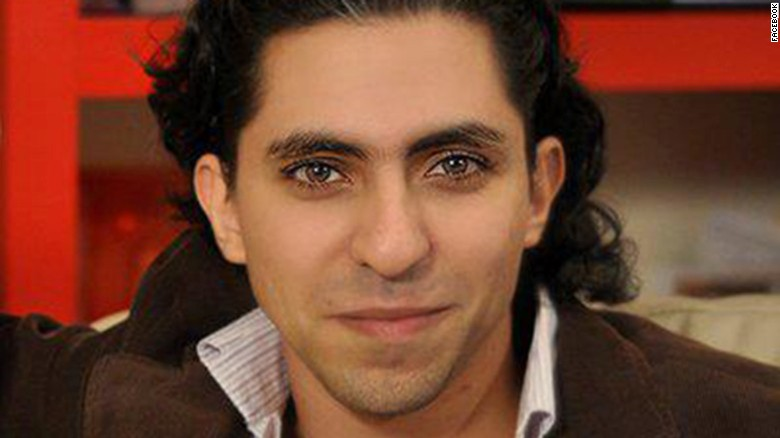 Saudi activist Raif Badawi received the PEN Pinter Prize's 2015 International Writer of Courage Award.