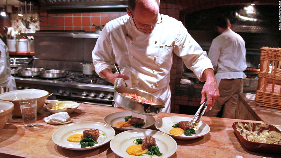 Chez Panisse opened in 1971 with a philosophy that has become ...