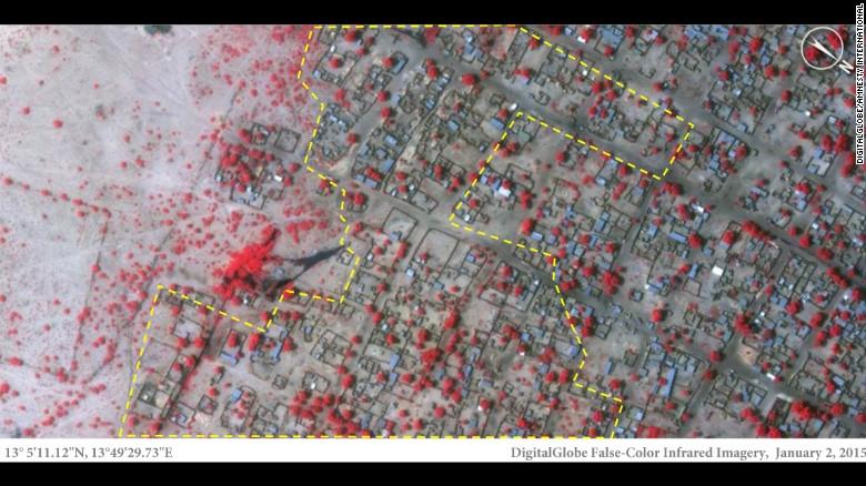 Boko Haram 'borra del mapa' un poblado en Nigeria