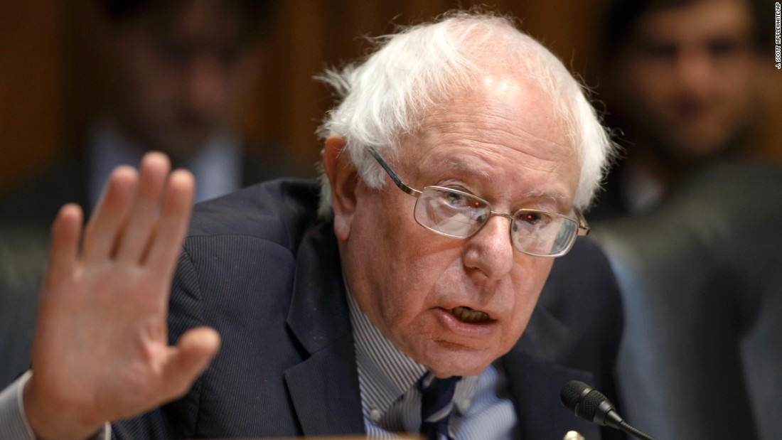 "<a href=""http://www.cnn.com/2015/04/28/politics/bernie-sanders-2016-election-announcement/index.html"">Sen. Bernie Sanders</a>, an independent from Vermont who caucuses with Democrats, has said the United States needs a ""political revolution"" of working-class Americans looking to take back control of the government from billionaires. He first announced the run in an email to supporters early on the morning of Thursday, April 30."