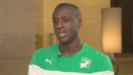 Yaya Toure on his Man City future
