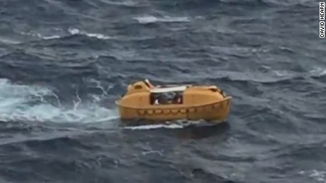 2015: Passing Disney cruise rescues man in water