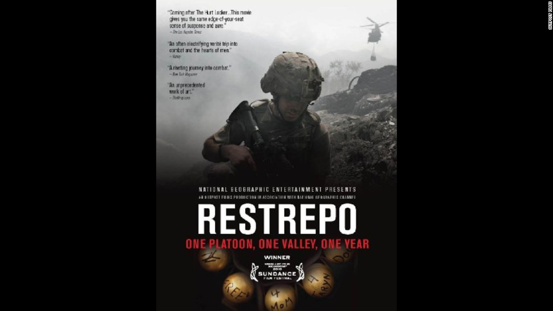 "Filmmakers Sebastian Junger and Tim Hetherington spent a year embedded with a U.S. Army platoon in Afghanistan. Their resulting 2010 documentary, ""Restrepo,"" was hailed as a visceral look at modern warfare."