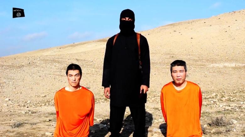 Con el tiempo contado para los rehenes, Japón desea comunicarse con ISIS