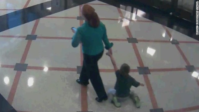 Teacher Drags 6 Year Old Student Through Hallway Cnn Video