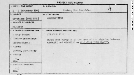 Air Force UFO files land on Internet