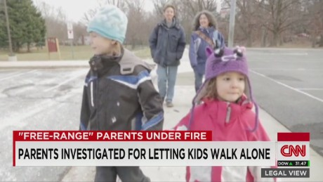 Kids Walk Home Alone: Neglectful Parenting?