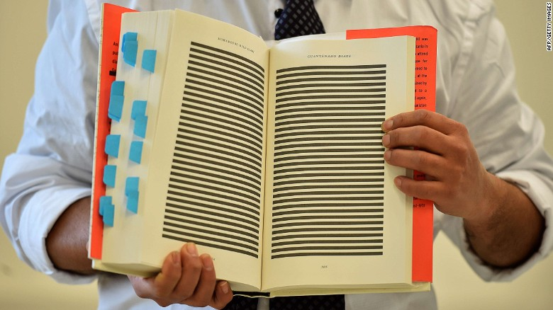Guantanamo Bay detainee releases book detailing torture