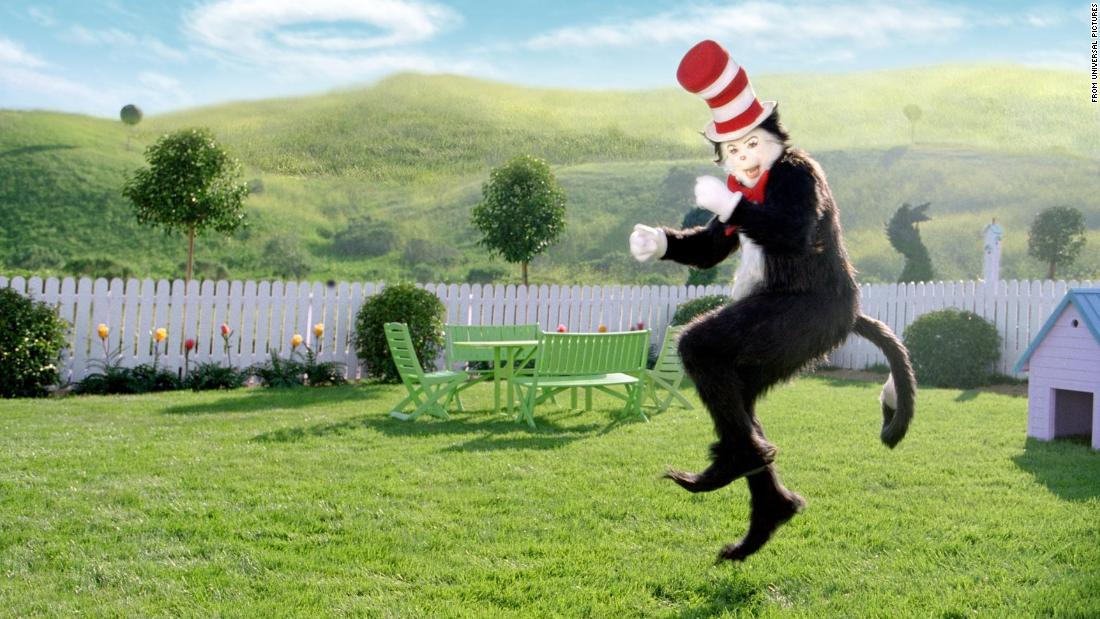 Dr Seuss Cat In The Hat Baseball Bat