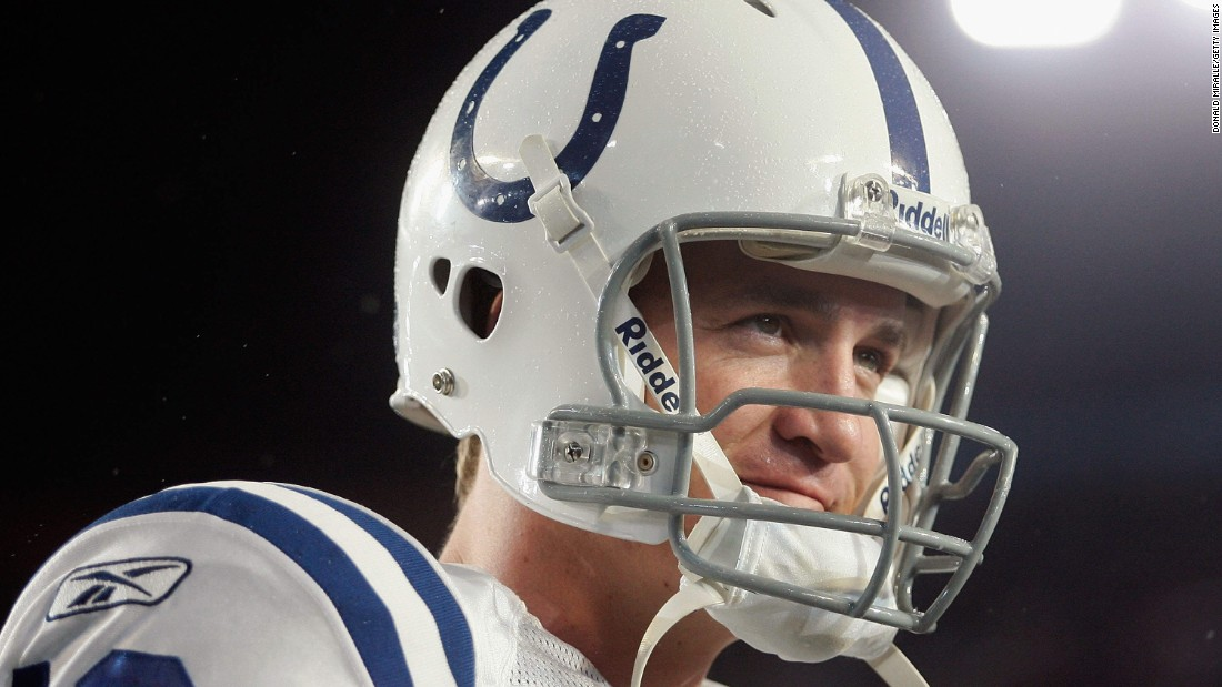 Quarterback Peyton Manning threw for 247 yards and a touchdown in Super Bowl XLI, leading the Indianapolis Colts to a 29-17 victory over Chicago.