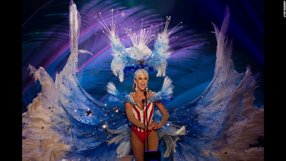 Miss Universe national costume show...